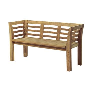 Skagerak - Facet - ławka ogrodowa - wymiary: 160 x 55 x 81 cm
