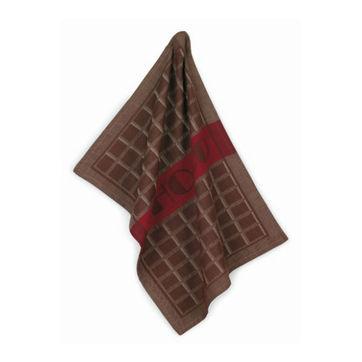 Kela - Chocolat - zestaw dwóch ściereczek - wymiary: 50 x 70 cm