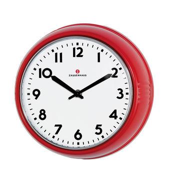 Zassenhaus - Retro - zegary ścienne - średnica: 24 cm