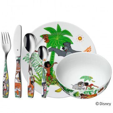 WMF - Księga Dżungli - zestaw obiadowy dla dzieci - 6 elementów