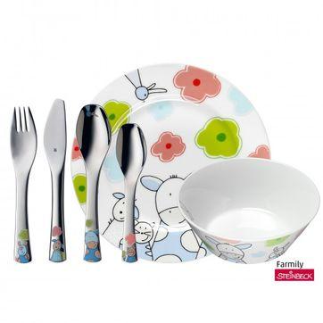 WMF - Farmily - zestaw obiadowy dla dzieci - 6 elementów