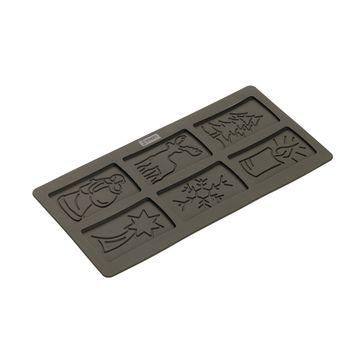 Lurch - FlexiForm - forma na herbatniki - wymiary: 30 x 15 cm