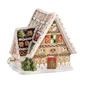 Villeroy & Boch - Christmas Toys - lampion-pozytywka - wymiary: 16 x 13 x 16 cm