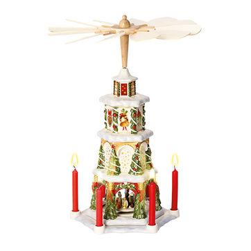 Villeroy & Boch - Christmas Toys Memory - świecznik piramida - wysokość: 41 cm