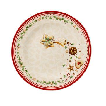 Villeroy & Boch - Winter Bakery Delight - talerz sałatkowy - średnica: 21,5 cm