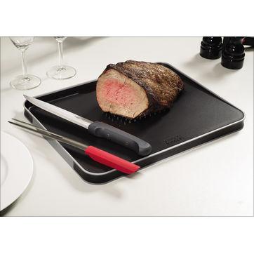 Joseph Joseph - Carving Set - zestaw do pieczonego mięsa - taca, nóż, widelec