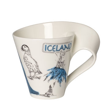 Villeroy & Boch - New Wave Caffe Islandia - kubek - pojemność: 0,3 l