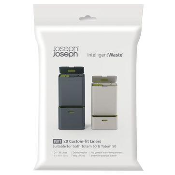 Joseph Joseph - Intelligent Waste - worki na śmieci do kosza Totem 50 i 60 l
