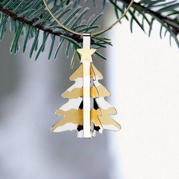 Menu - Christmas Charm - choinka