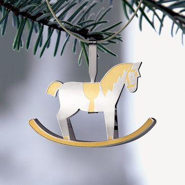 Menu - Christmas Charm - konik na biegunach