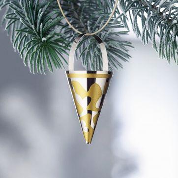 Menu - Christmas Charm - rożek