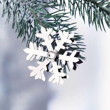 Menu - Christmas Jewelry - płatek śniegu