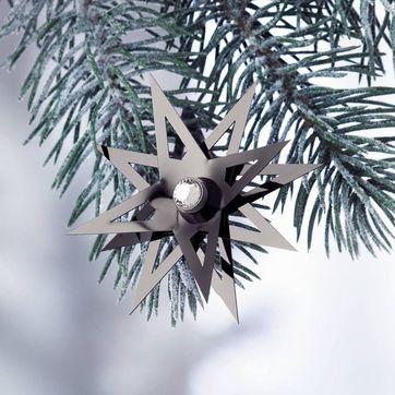 Menu - Christmas Jewelry Black Chrome - czarna gwiazdka