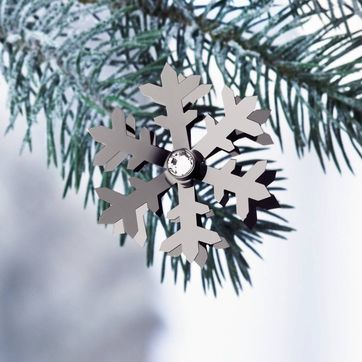 Menu - Christmas Jewelry Black Chrome - płatek śniegu