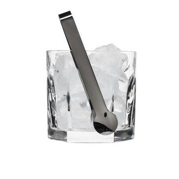 Sagaform - Club Boston - wiaderko na lód ze szczypcami - wysokość: 12 cm
