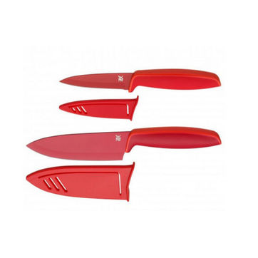 WMF - Touch - zestaw 2 kuchennych noży z osłonami - długość ostrzy: 13 i 9 cm