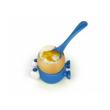 MSC - Egg Watcher - kieliszek i łyżeczka do jajek - średnica: 4,5 cm