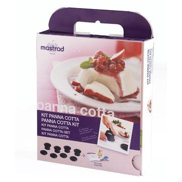 Mastrad - zestaw do panna cotty - 4 foremki