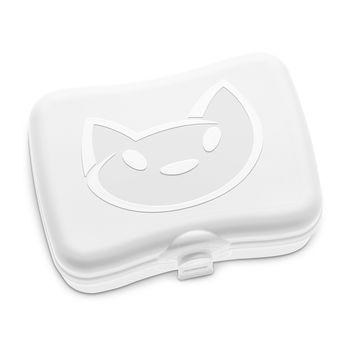 Koziol - Miaou - pojemnik na kanapki - wymiary: 17,2 x 12,8 cm