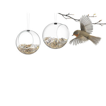 Eva Solo - 2 karmniki dla ptaków - wymiary: 11 x 12 cm