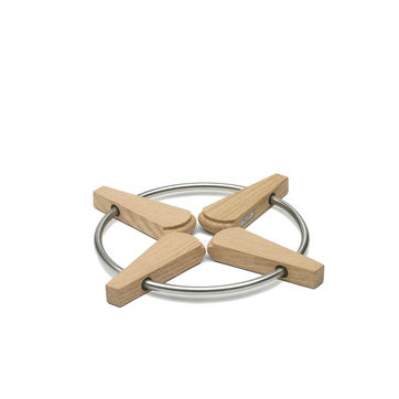 Skagerak - Folding Trivet - podkładka pod gorące naczynia - średnica: 20/28 cm