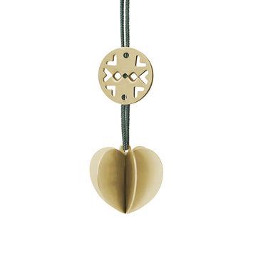 Stelton - Nordic - zawieszka serce - wymiary: 3 x 3 x 3 cm