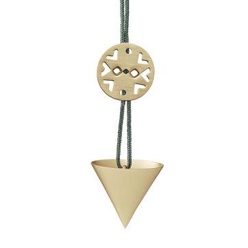 Stelton - Nordic - zawieszka stożek - wymiary: 3,3 x 3,3 x 3 cm