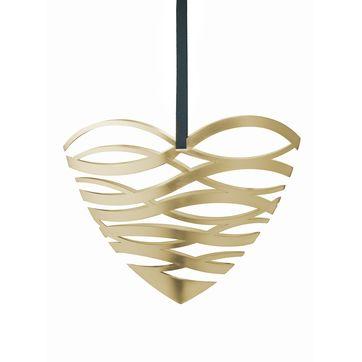 Stelton - Tangle - zawieszka serce na drzwi - wymiary: 23,5 x 10 x 19 cm