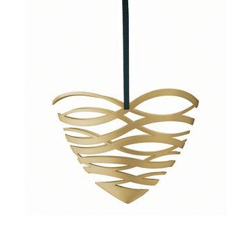 Stelton - Tangle - zawieszka serce - wymiary: 10,5 x 5 x 8,5 cm