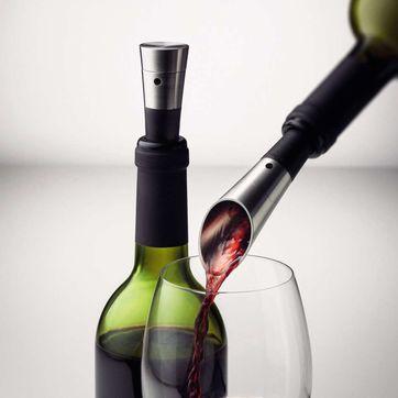 Menu - Vintage - pompka i nalewak do wina