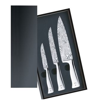 WMF - Grand Gourmet Damasteel - noże ze stali damasceńskiej