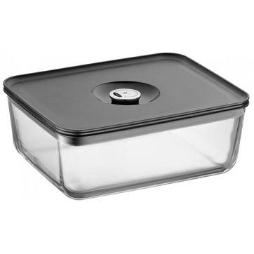 WMF - Depot Fresh - szklane pojemniki do przechowywania żywności - z systemem regulacji dostępu powietrza
