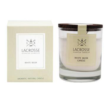 Lacrosse - świeca zapachowa - białe piżmo - czas palenia: do 40 godzin