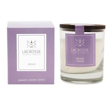 Lacrosse - świeca zapachowa - orchidea - czas palenia: do 40 godzin