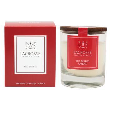 Lacrosse - świeca zapachowa - żurawina - czas palenia: do 40 godzin
