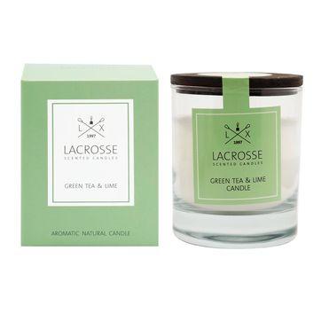Lacrosse - świeca zapachowa - zielona herbata i limonka - czas palenia: do 40 godzin