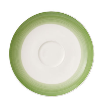 Villeroy & Boch - Colourful Life Green Apple - spodek do filiżanki do kawy - średnica: 14 cm