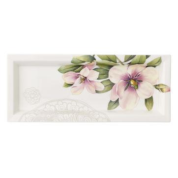 Villeroy & Boch - Quinsai Garden Gifts - prostokątny półmisek - wymiary: 25 x 10 cm