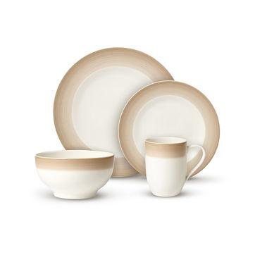 Villeroy & Boch - Colourful Life Natural Cotton - zestaw porcelany - dla 2 osób