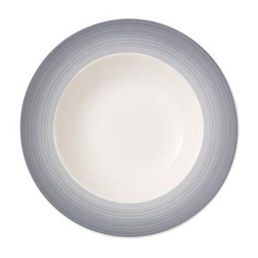 Villeroy & Boch - Colourful Life Cosy Grey - talerz głęboki - średnica: 25 cm