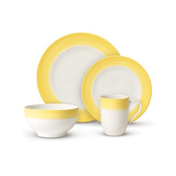 Villeroy & Boch - Colourful Life Lemon Pie - zestaw porcelany - dla 2 osób