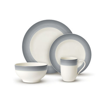 Villeroy & Boch - Colourful Life Cosy Grey - zestaw porcelany - dla 2 osób