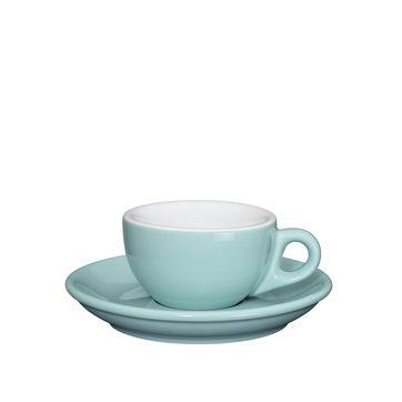 Cilio - Roma - filiżanka do espresso ze spodkiem - pojemność: 0,05 l