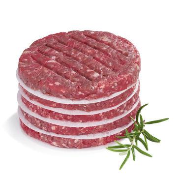Kela - Buffalo - papier do przekładania hamburgerów - 50 sztuk; średnica: 11 cm