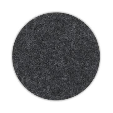 Kela - Alia - 4 filcowe podkładki - średnica: 10 cm