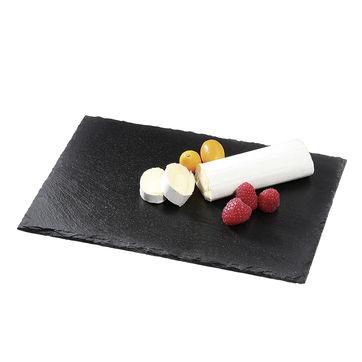 Cilio - Formaggio - deska do sera z łupka - wymiary: 30 x 20 cm