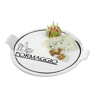 Cilio - Formaggio - porcelanowy talerz do sera - średnica: 26 cm