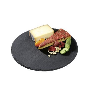 Cilio - Formaggio - deska do sera z łupka - średnica: 30 cm