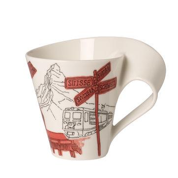Villeroy & Boch - New Wave Caffe Szwajcaria - kubek w opakowaniu prezentowym - 0,3 l