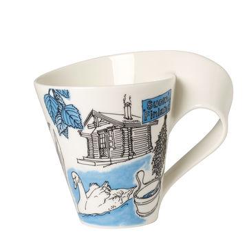 Villeroy & Boch - New Wave Caffe Finlandia - kubek w opakowaniu prezentowym - 0,3 l